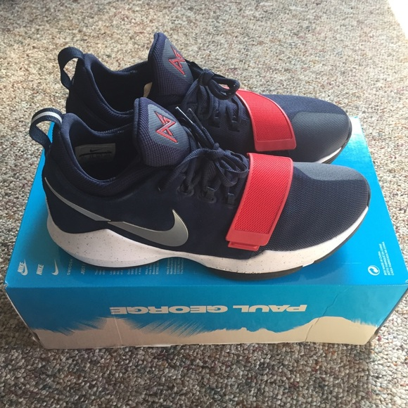 best website 63d36 194d0 Nike PG1 USA Olympics Shoes Men s 10.5 NWB PG 1